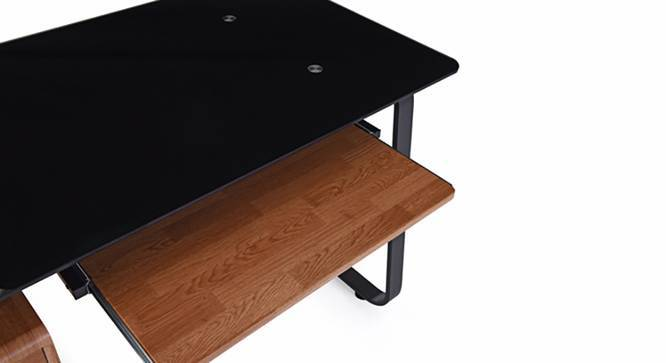 Eddings - Ray Study Set (Black, Golden Oak Finish) by Urban Ladder