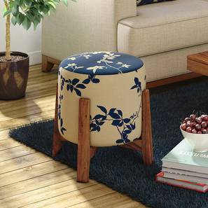 Nicole stool (Botanical Pattern) by Urban Ladder