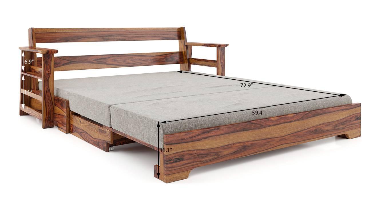 Mahim sofa cum bed grey 9