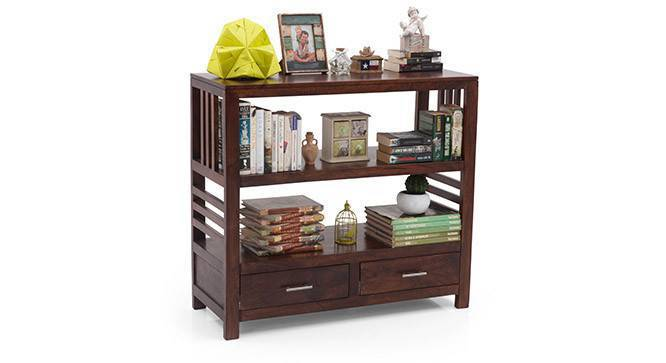 Carnegie Bookshelf/Display Unit (Walnut Finish) by Urban Ladder
