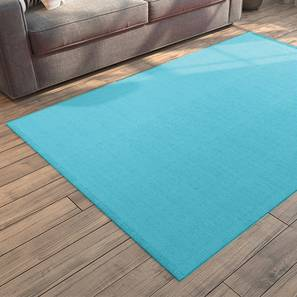 """Solway Dhurrie (36"""" x 60"""" Carpet Size, Light Blue) by Urban Ladder"""