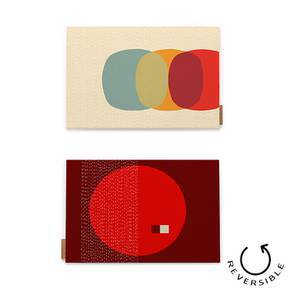 Colour Block Table Mats - Set of 6 by Urban Ladder