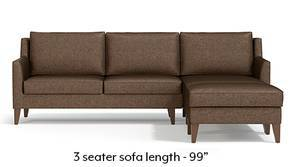 Greenwich Sectional Sofa (Mocha)