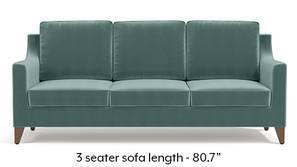 Abbey Sofa (Dusty Turquoise Velvet)