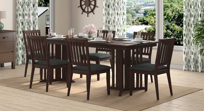 Angus XL - Diner Dining Table Set (Walnut Finish) by Urban Ladder