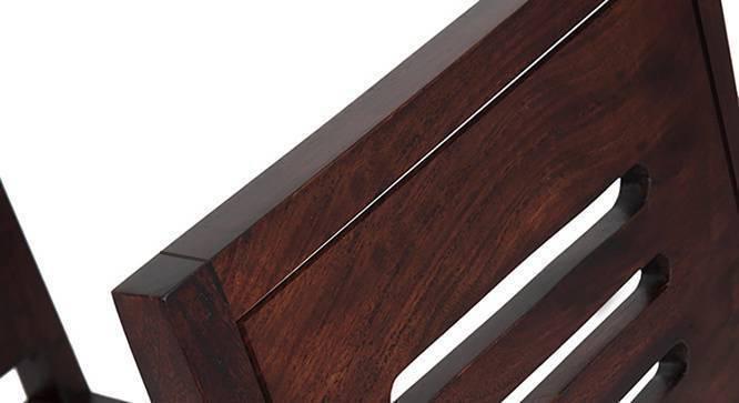 Arabia - Capra 4 Seater Storage Dining Table Set (Mahogany Finish) by Urban Ladder