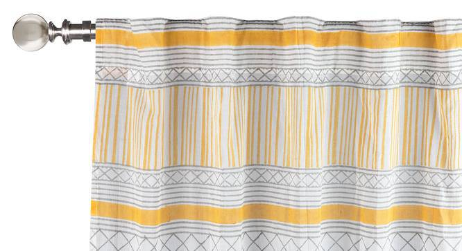 "Raina Window Curtains - Set Of 2 (Multi Colour, 54"" x 60"" Curtain Size) by Urban Ladder"