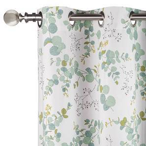 "Wilderness Window Curtains - Set Of 2 (54"" x 60"" Curtain Size, Branching Free) by Urban Ladder"