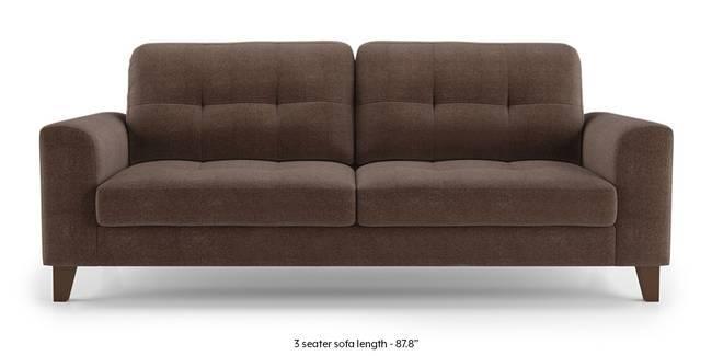 Verona Sofa (Daschund Brown) (1-seater Custom Set - Sofas, None Standard Set - Sofas, Fabric Sofa Material, Regular Sofa Size, Regular Sofa Type, Daschund Brown)