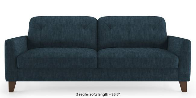 Bradford Sofa (Indigo Blue) (1-seater Custom Set - Sofas, None Standard Set - Sofas, Indigo Blue, Fabric Sofa Material, Regular Sofa Size, Regular Sofa Type)