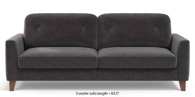 Bradford Sofa (Smoke Grey) (1-seater Custom Set - Sofas, None Standard Set - Sofas, Smoke, Fabric Sofa Material, Regular Sofa Size, Regular Sofa Type)