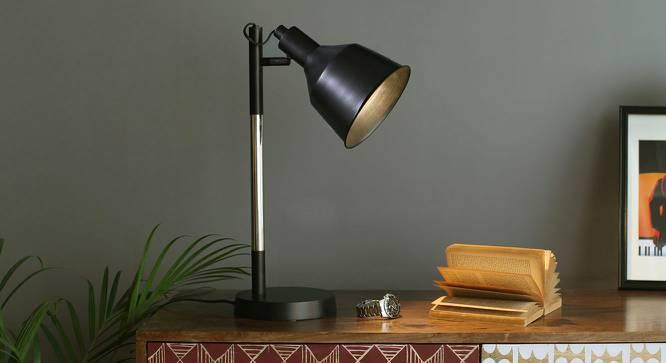 Cancun Study Lamp (Black Shade Finish) by Urban Ladder