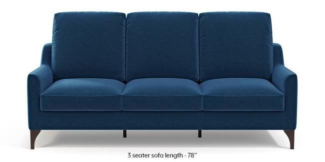 Norden Sofa (Cobalt Blue) (1-seater Custom Set - Sofas, None Standard Set - Sofas, Cobalt, Fabric Sofa Material, Regular Sofa Size, Regular Sofa Type)