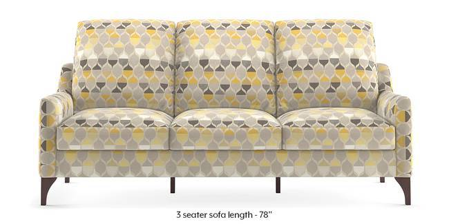 Norden Sofa (Geometric) (1-seater Custom Set - Sofas, None Standard Set - Sofas, Fabric Sofa Material, Regular Sofa Size, Regular Sofa Type, Geometric)