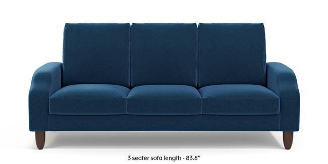 Devon Sofa (Cobalt Blue) (1-seater Custom Set - Sofas, None Standard Set - Sofas, Cobalt, Fabric Sofa Material, Regular Sofa Size, Regular Sofa Type)