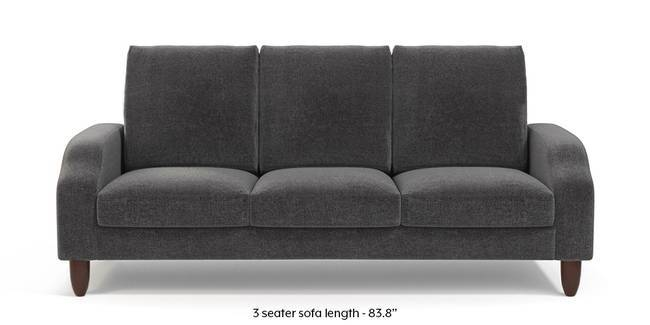 Devon Sofa (Smoke Grey) (1-seater Custom Set - Sofas, None Standard Set - Sofas, Smoke Grey, Fabric Sofa Material, Regular Sofa Size, Regular Sofa Type)