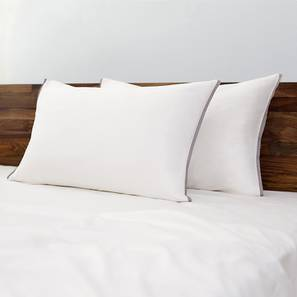 Serena 300 TC Sateen Bedsheet Set (King Size, Solid Ivory White) by Urban Ladder