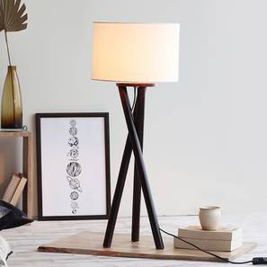 Dallol Table Lamp (Dark Walnut Base Finish) by Urban Ladder