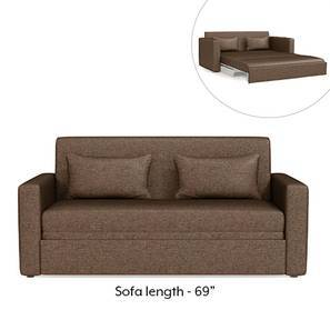 Camden Sofa Cum Bed (Mocha Brown)