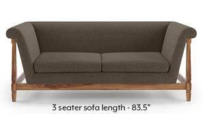 Malabar Wooden Sofa (Pine Brown)