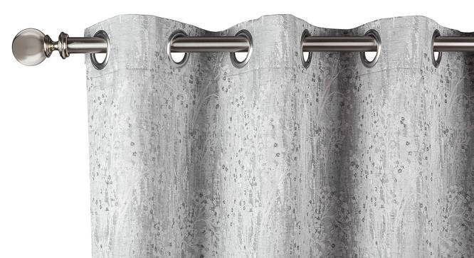 "Dunham Door Curtains - Set Of 2 (Grey, 52""x108"" Curtain Size) by Urban Ladder"