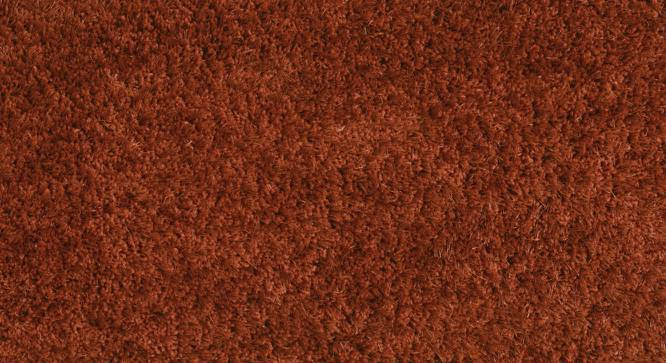 "Linton Shaggy Rug (Rust, 24"" x 60"" Carpet Size) by Urban Ladder"