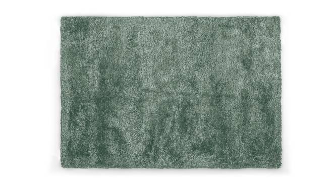 "Linton Shaggy Rug (60"" x 96"" Carpet Size, Mineral Blue) by Urban Ladder"