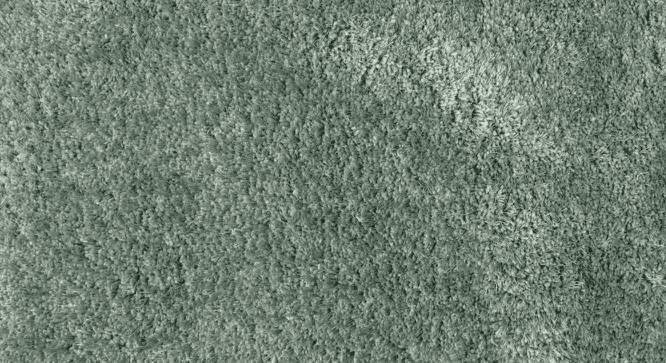 "Linton Shaggy Rug (48"" x 72"" Carpet Size, Mineral Blue) by Urban Ladder"