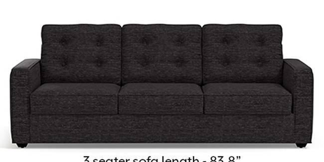 Apollo Sofa Set (Cosmic, Fabric Sofa Material, Regular Sofa Size, Soft Cushion Type, Regular Sofa Type, Master Sofa Component, Tufted Back Type, Regular Back Height)