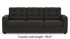 Apollo Tufted Sofa (Graphite Grey)