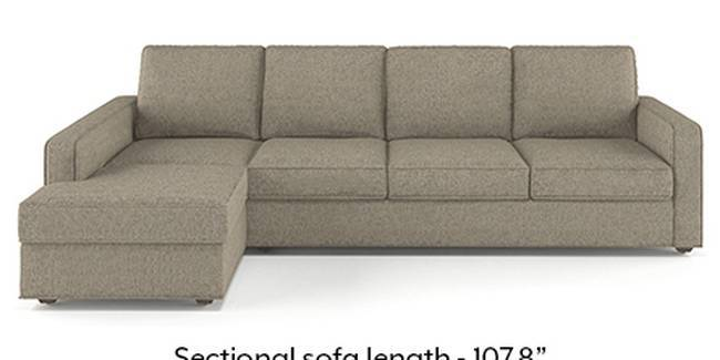 Apollo Sofa Set (Mist, Fabric Sofa Material, Regular Sofa Size, Soft Cushion Type, Sectional Sofa Type, Sectional Master Sofa Component, Regular Back Type, Regular Back Height)