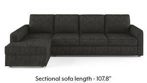 Apollo Sectional Sofa (Graphite Grey)