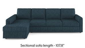 Apollo Sectional Sofa (Indigo Blue)