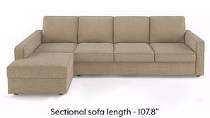 Apollo Sectional Sofa (Sandshell Beige)