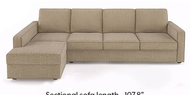 Apollo Sofa Set (Fabric Sofa Material, Regular Sofa Size, Soft Cushion Type, Sectional Sofa Type, Sectional Master Sofa Component, Sandshell Beige, Regular Back Type, Regular Back Height)