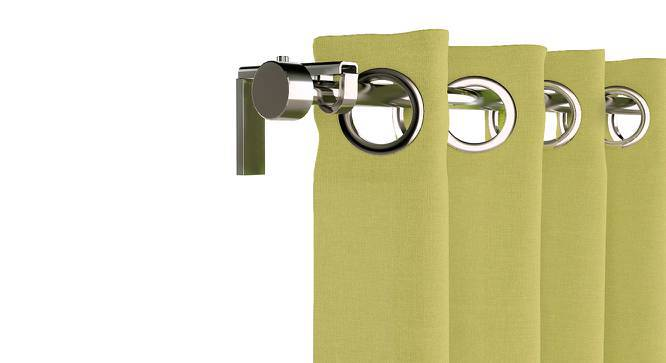 "Ethos Window Curtains - Set Of 2 (Pistachio Green, 52""x60"" Curtain Size) by Urban Ladder"