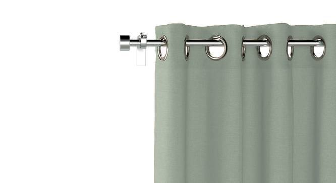 "Ethos Window Curtains - Set Of 2 (52""x60"" Curtain Size, Eucalyptus Green) by Urban Ladder"