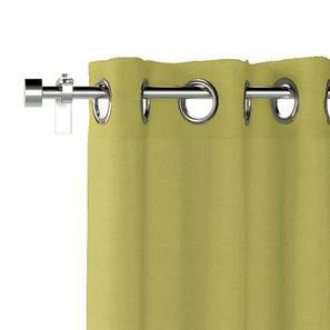 """Ethos Door Curtains - Set Of 2 (Pistachio Green, 52""""x84"""" Curtain Size) by Urban Ladder"""