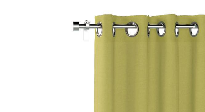 "Ethos Door Curtains - Set Of 2 (Pistachio Green, 52""x108"" Curtain Size) by Urban Ladder"