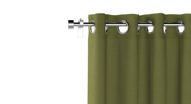 "Ethos Door Curtains - Set Of 2 (Olive, 52""x84"" Curtain Size) by Urban Ladder"