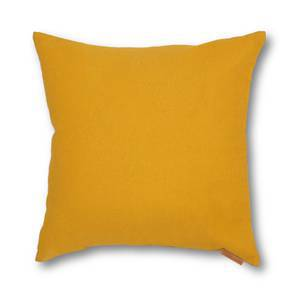 SeeSaw Cushion Cover - Set Of 2 (Solid Yellow Pattern) by Urban Ladder