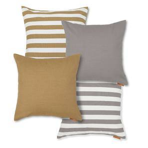 Sander Cushion Cover - Set Of 4 (Multi Colour) by Urban Ladder