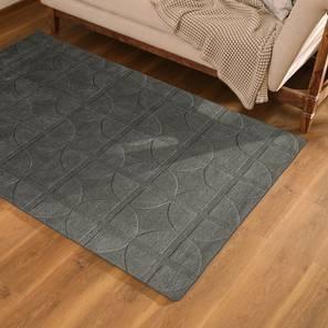 """Sakura Carpet (Grey, 36"""" x 60"""" Carpet Size) by Urban Ladder"""