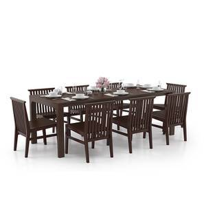 Arco - Angus 8 Seater Dining Table Set (Dark Walnut Finish) by Urban Ladder