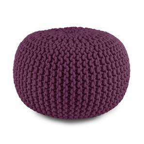 "Carmen Pouffe (Grape, 16""' x 16"" Size) by Urban Ladder"