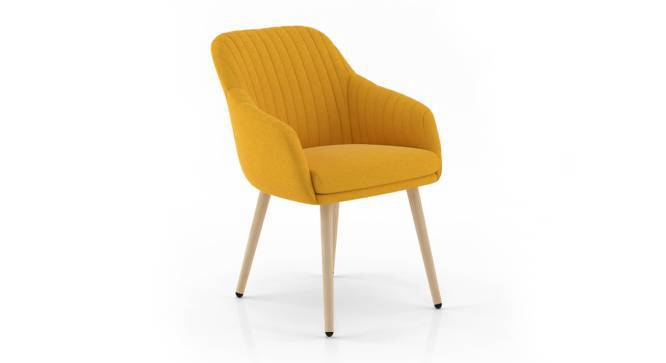 Rochelle Lounge Chair (Yellow) by Urban Ladder