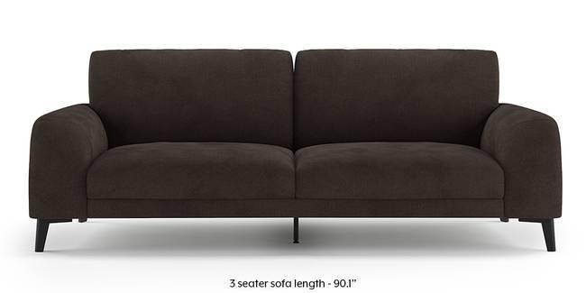 Maribo Sofa (Brown) (Brown, 2-seater Custom Set - Sofas, None Standard Set - Sofas, Fabric Sofa Material, Regular Sofa Size, Regular Sofa Type)