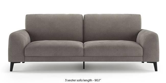 Maribo Sofa (Grey) (Grey, 2-seater Custom Set - Sofas, None Standard Set - Sofas, Fabric Sofa Material, Regular Sofa Size, Regular Sofa Type)