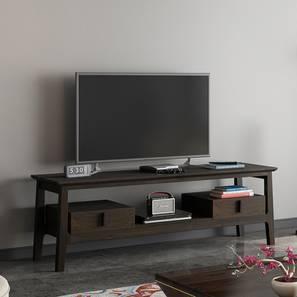 Satori TV Unit (American Walnut Finish, Without Wall Panel TV Unit) by Urban Ladder