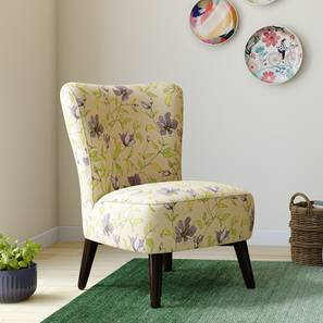 Greta Lounge Chair (Purple Clematis) by Urban Ladder
